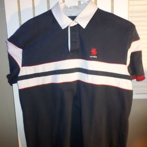 Tommy Hilfiger Shirts - Tommy Hilfiger Polo Red White and Blue